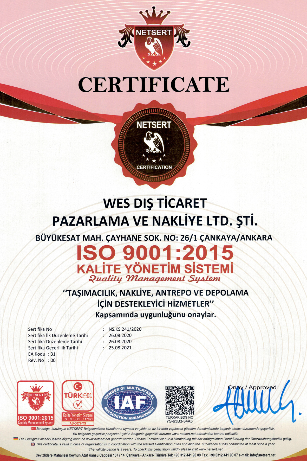 WES-ISO-9001